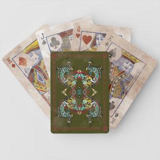 Vintage Dragon Play Cards
