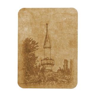 Vintage drawing of Juma-Jami Mosque Rectangular Photo Magnet