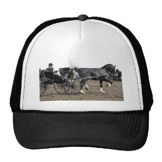 Vintage Driving Horse Trucker Hat