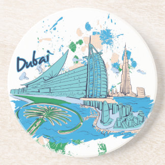 vintage dubai us e design coaster