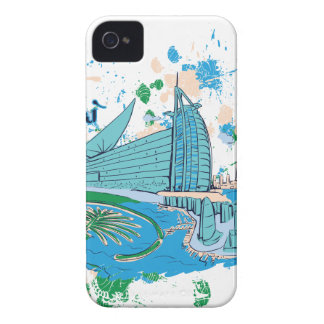 vintage dubai us e design iPhone 4 covers
