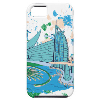 vintage dubai us e design iPhone 5 cases
