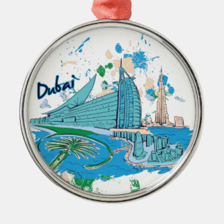 vintage dubai us e design metal ornament