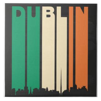 Vintage Dublin Cityscape Tile