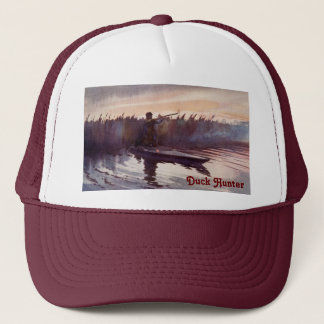 Vintage Duck Hunter Lake Sportsman Trucker Hat