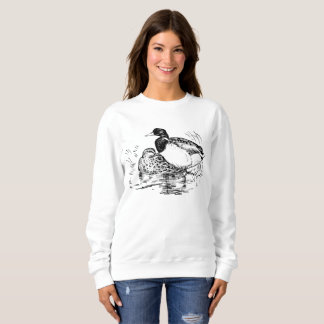 Vintage ducks womens Country sweatshirt