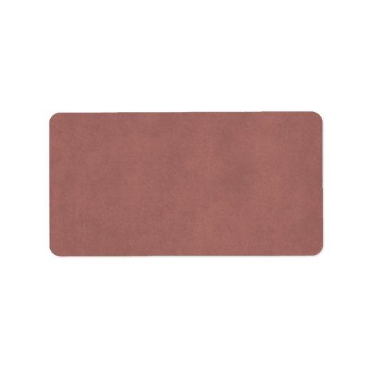 Vintage Dusty Dark Rose Parchment Paper Background Label