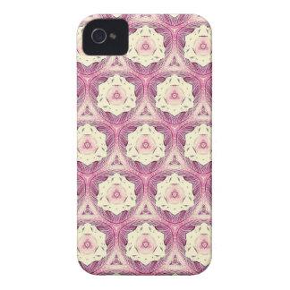 Vintage Dusty Rose Feminine Pattern iPhone 4 Covers