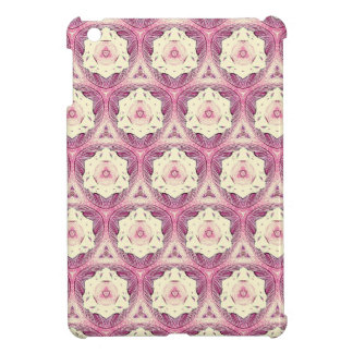 Vintage Dusty Rose Shade Modern Pattern iPad Mini Cases