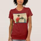 Vintage Dutch design, 1905 Girl and boy kissing T-Shirt