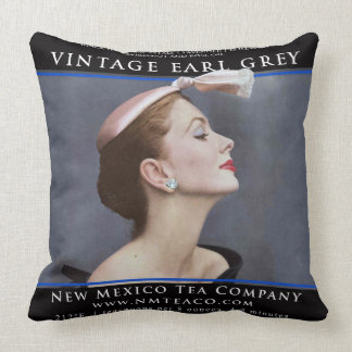 Vintage Earl Grey Pillow
