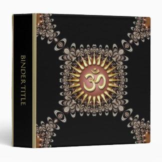 Vintage Earthy Lace Gold Om Album Binder