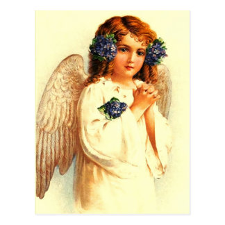 Vintage Easter Angel. Christian Easter Postcards