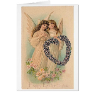Vintage Easter Angels, Card