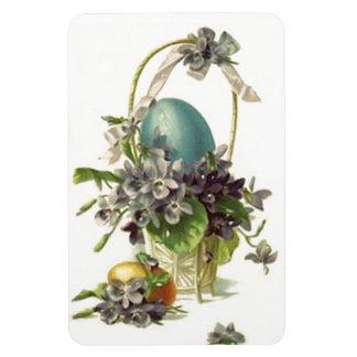 Vintage Easter Basket Eggs Premium Flexi Magnet