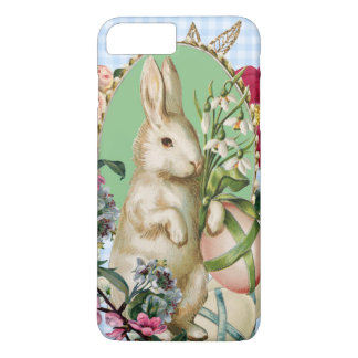 Vintage Easter Bunny and Eggs Collage iPhone 7 Plus Case