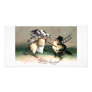 Vintage Easter Card Reproduction Card Customized Photo Card