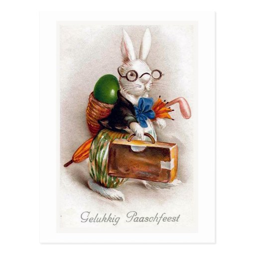 Vintage Easter Card Reproduction Postcard,