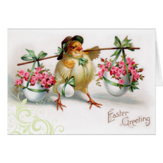 Vintage Easter Chic Card