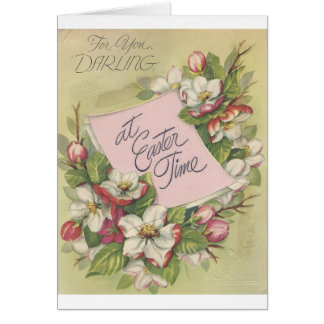 "Vintage Easter Darling ""Mario"" Card"