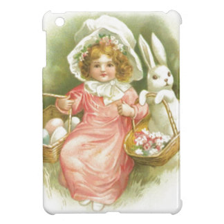 Vintage Easter Egg Gathering iPad Mini Case
