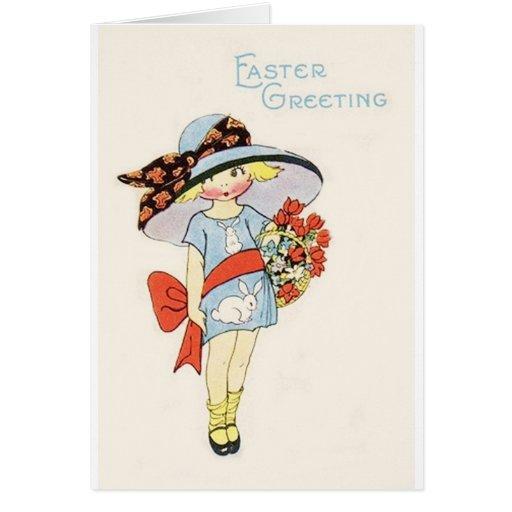 Vintage Easter Image Greeting Cards