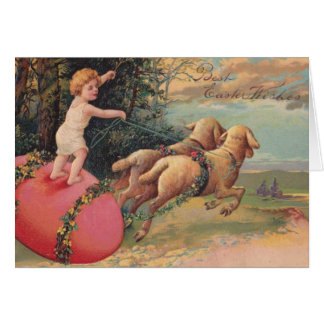 Vintage Easter Lambs Cards