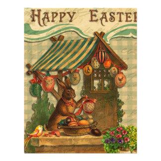 Vintage Easter Letterhead Template