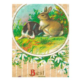 Vintage Easter Personalized Letterhead