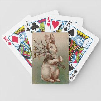 Vintage : easter - poker deck