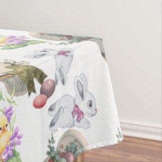 Vintage Easter Tablecloth