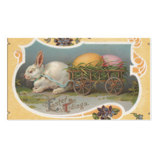 Vintage Easter Tidings Double-Sided Standard Business Cards (Pack Of 100)