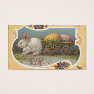 Vintage Easter Tidings Business Card