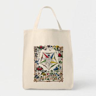 Vintage Eastern Star Signet Tote Bag