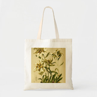 Vintage Edelweiss Tote Shopping Bag