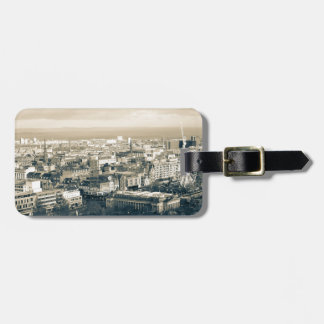 Vintage Edinburgh Luggage Tag