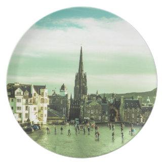 Vintage Edinburgh Plates
