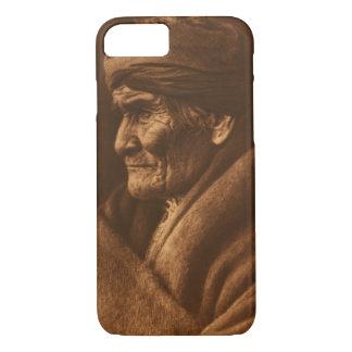 Vintage Edward S Curtis Geronimo Photograph iPhone 8/7 Case
