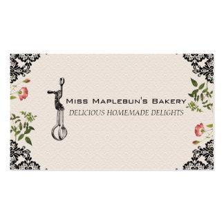 Vintage egg beater bakery baking gift tag biz card business cards