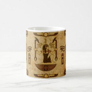 Vintage Egyptian Ornament  Old Papyrus paper Coffee Mug