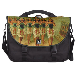Vintage Egyptian Painting Laptop Bags