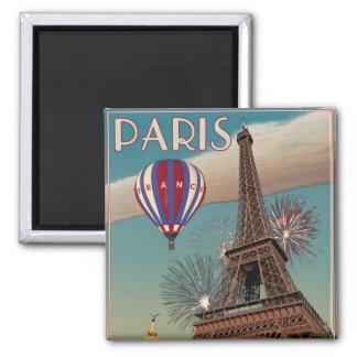 Vintage Eiffel Tower - 18x24 Magnet