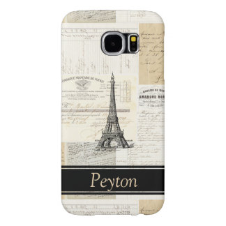 Vintage Eiffel Tower French Personalized Case