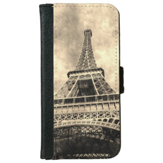 Vintage Eiffel Tower iPhone 6 Wallet Case
