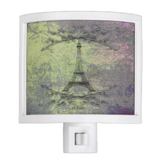 Vintage Eiffel Tower Night Lite