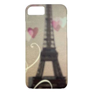 Vintage Eiffel Tower on phone case