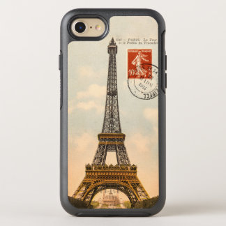 Vintage Eiffel Tower OtterBox Symmetry iPhone 6/6s OtterBox Symmetry iPhone 7 Case