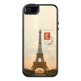Vintage Eiffel Tower OtterBox Symmetry iPhone SE/5 OtterBox iPhone 5/5s/SE Case