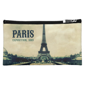 Vintage Eiffel Tower, Paris, 1889 Cosmetic Bag