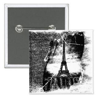 Vintage Eiffel Tower Paris #1 - Button